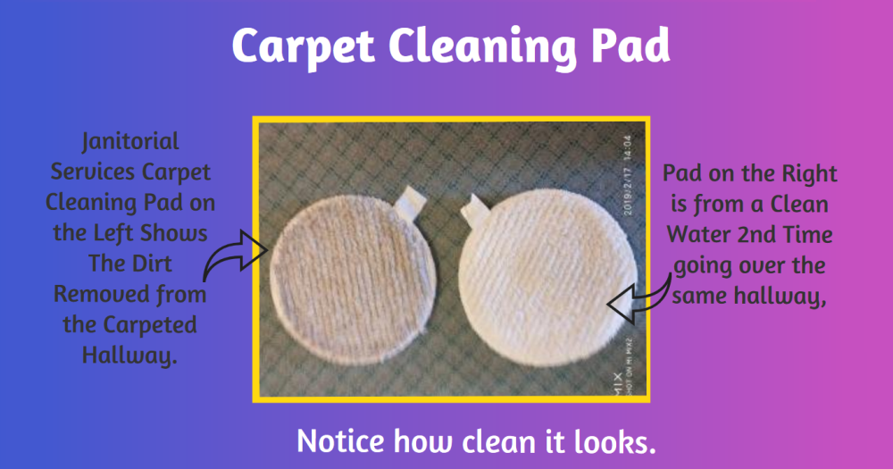 Carpet Cleaning  Pad